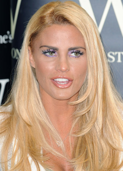 Is Katie Price Tearing Her Hair Out Probably