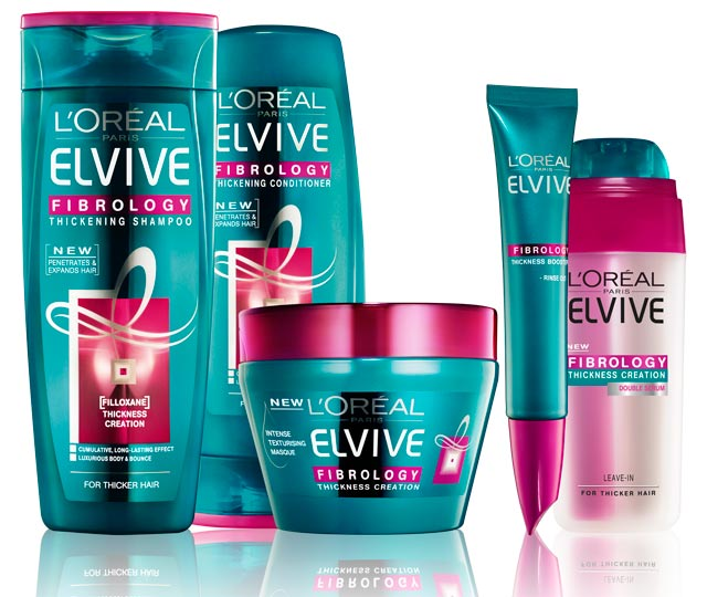 Elvive Fibrology range