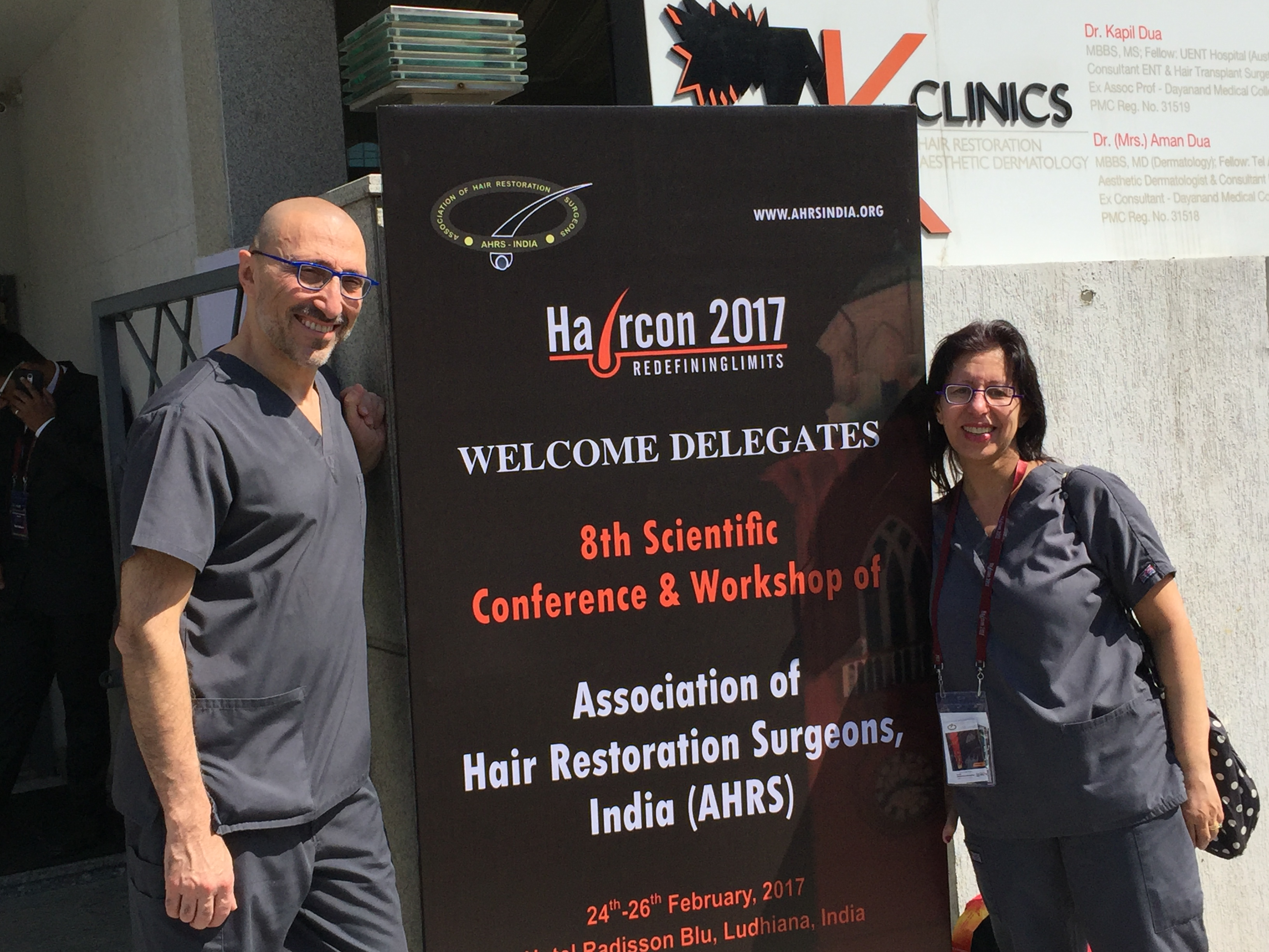 Drs Farjo Invited Guests At Annual India Hair Transplant Congress