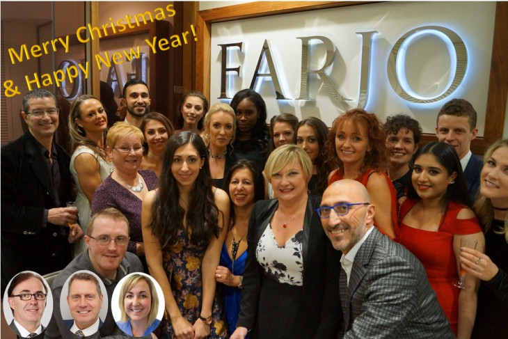 seasons greetings from the Farjo team