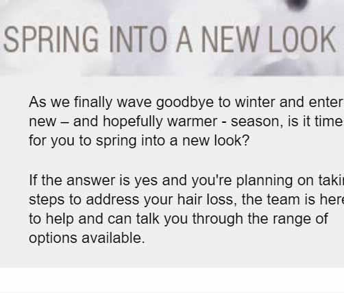 Spring newsletter Farjo